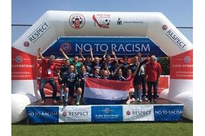 Advendo '57 dames 1 pakt 6e plaats tijden Girlscup Maastricht!